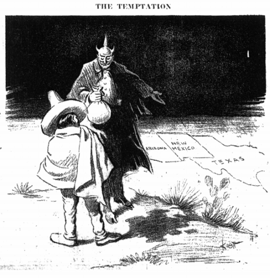 Weekly Post: Zimmermann Telegram Cartoon